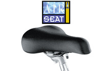 AIR-SEAT - The air-suspended Bicycle seat Selle